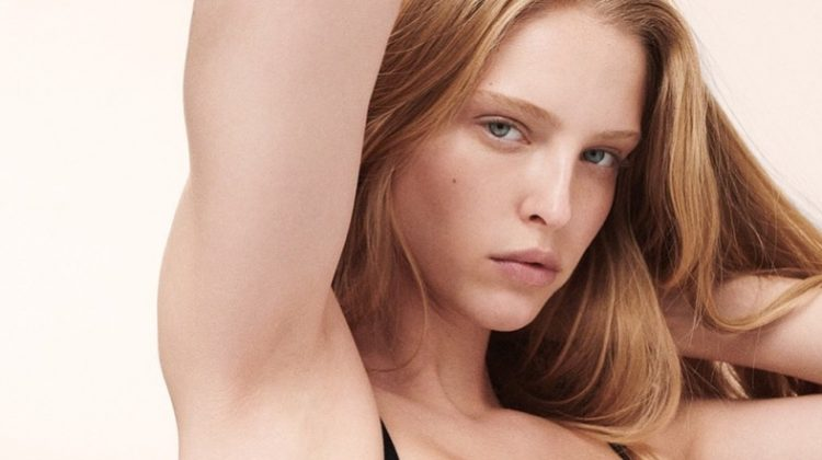 Abby Champion, Cara Taylor Front Calvin Klein Underwear Campaign