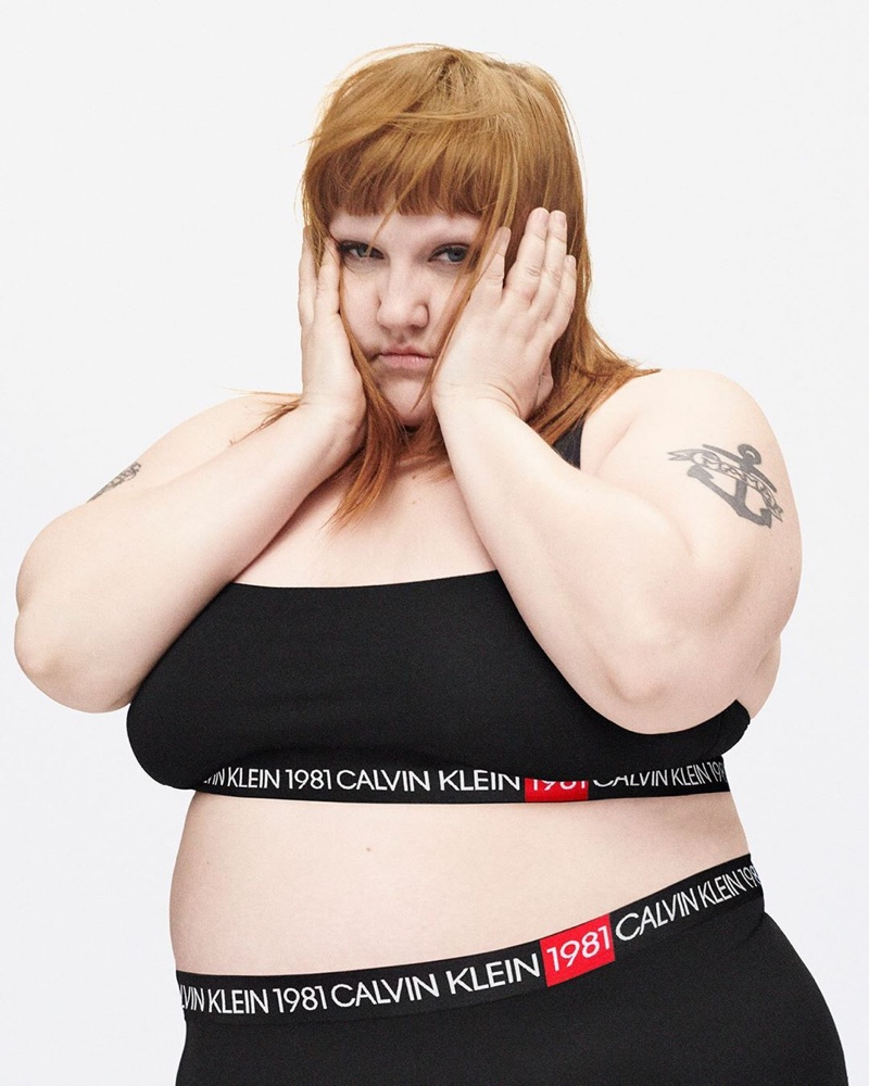 Singer Beth Ditto appears in Calvin Klein Underwear fall-winter 2019 campaign