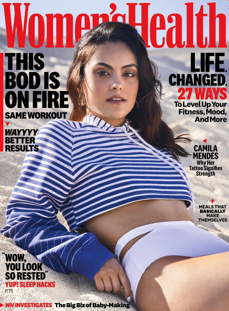 Camila Mendes on Women's Health October 2019 Cover