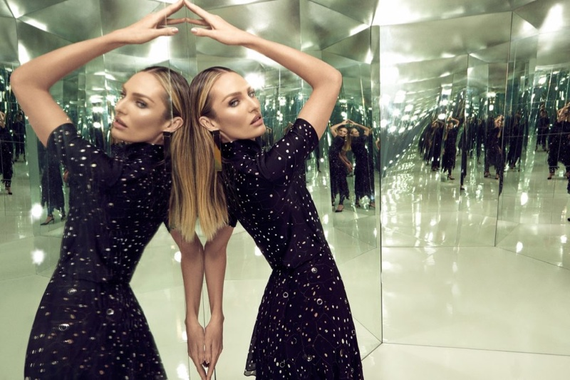 Striking a pose, Candice Swanepoel fronts Animale Surreal campaign