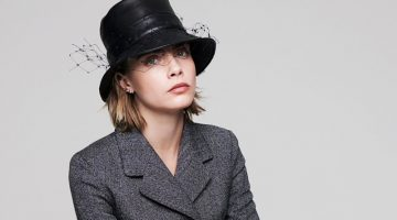 Cara Delevingne Takes Self-Portraits for Dior Magazine
