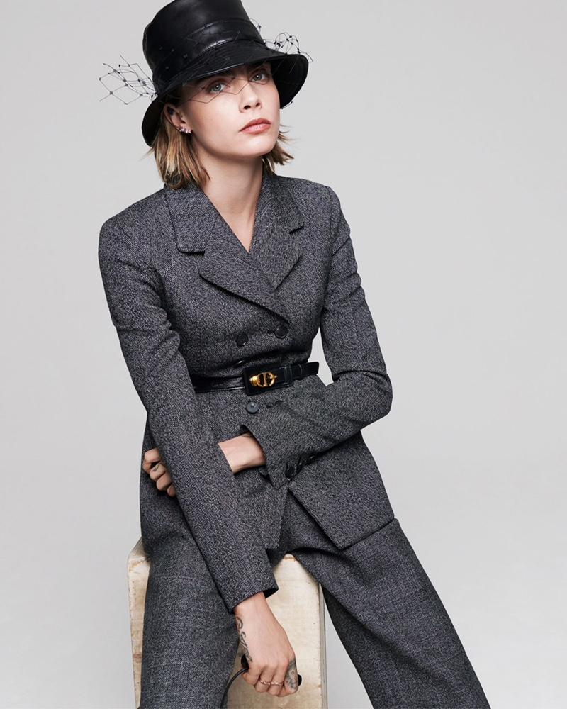 Cara Delevingne Takes Self-Portraits for Dior Magazine
