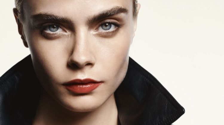 Cara Delevingne Graces the Pages of ELLE UK