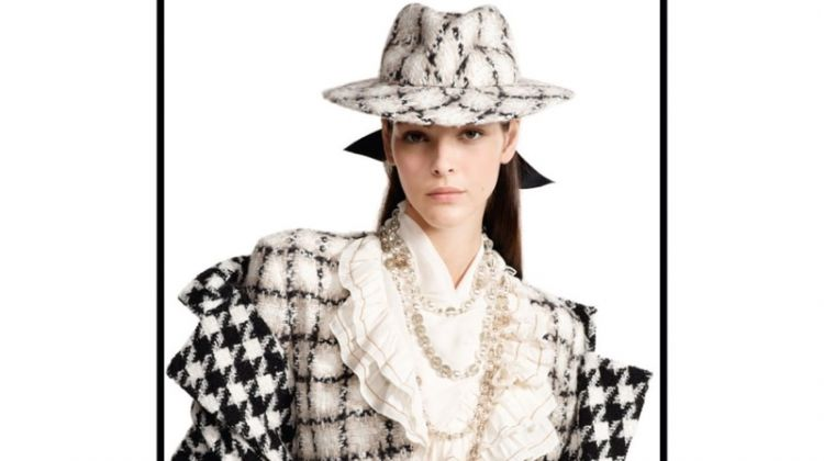 Vittoria Ceretti stars in Chanel fall-winter 2019 campaign