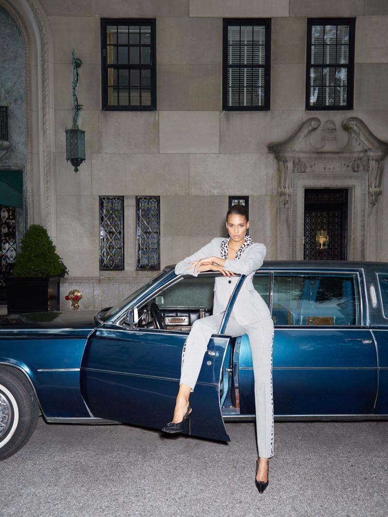 Cindy Bruna Wears Chic Autumn Looks for Bergdorf Goodman