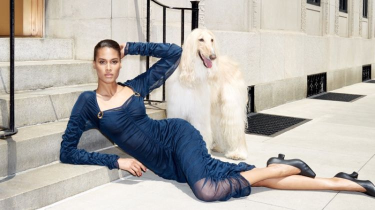 Cindy Bruna Wears Chic Autumn Looks for Bergdorf Goodman