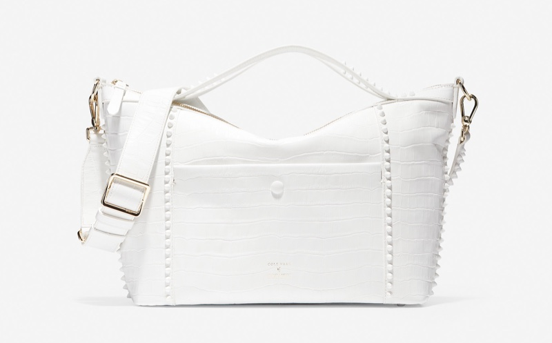 Cole Haan x Rodarte Soft Satchel in Optic White $358