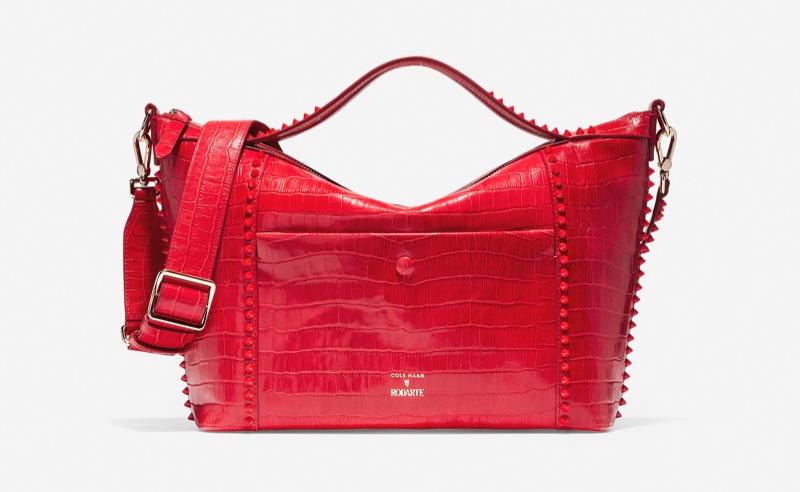 Cole Haan x Rodarte Soft Satchel in True Red $358