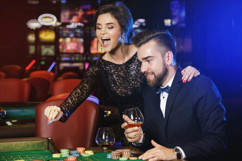 Couple Gambling