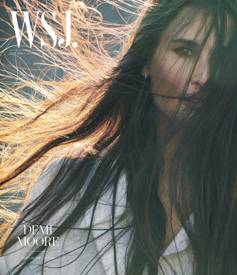 Demi Moore on WSJ. Magazine October 2019 Cover