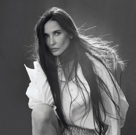 Demi Moore Graces the Pages of WSJ. Magazine