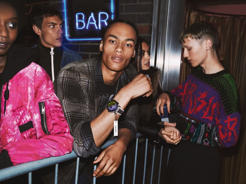 Diesel heads outside a club for fall-winter 2019 campaign