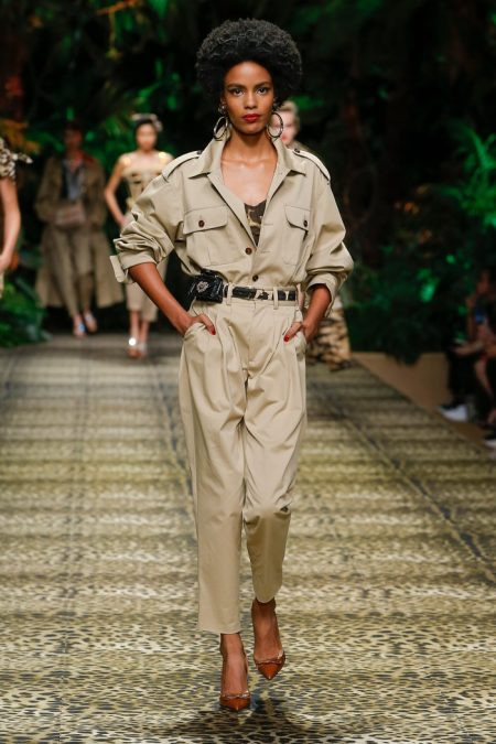 Dolce & Gabbana Goes Tropical for Spring 2020