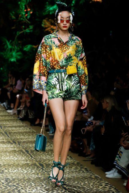 Dolce Amp Gabbana Spring Summer 2020 Runway Fashion Gone