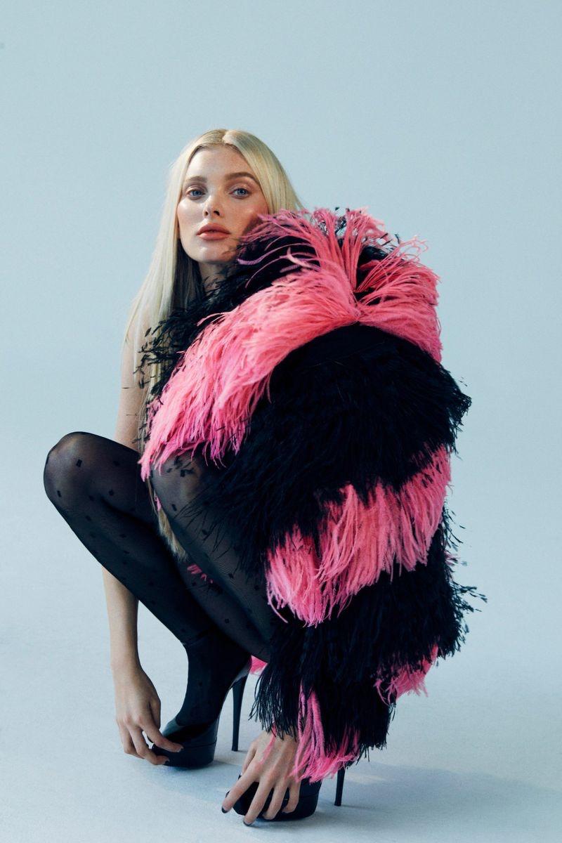 Elsa Hosk Poses in Sleek Styles for ELLE Turkey