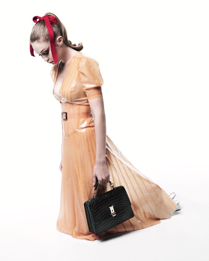 Gigi Hadid Channels Retro Fashion for LOVE Magazine
