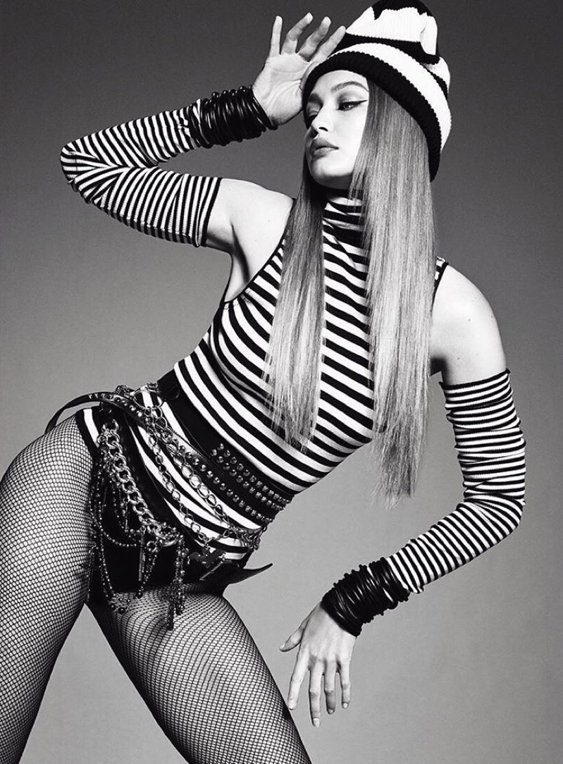 Gigi Hadid Turns Up the Glam Factor For Vogue Brazil