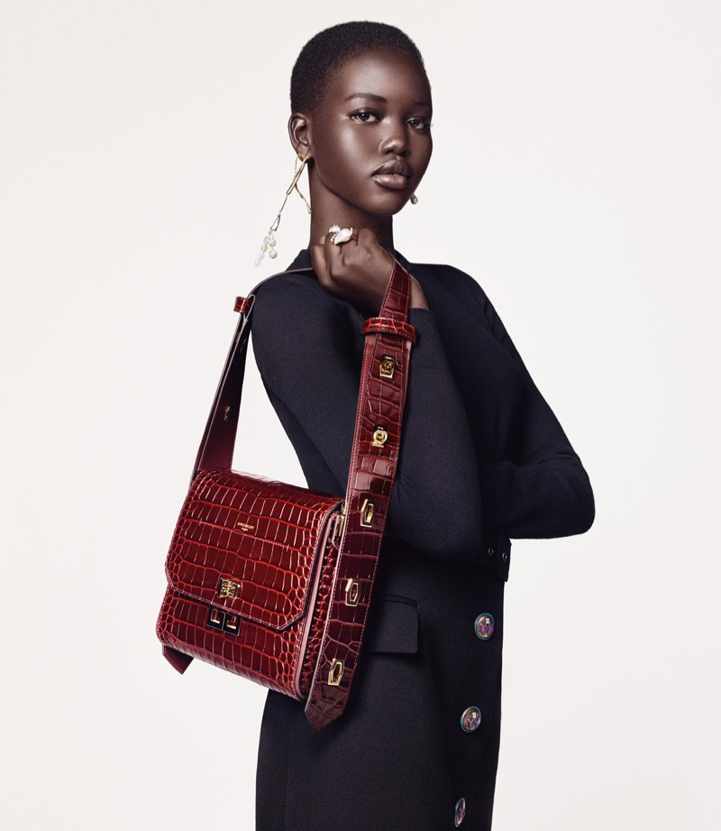 Adut Akech fronts Givenchy Winter of Eden fall-winter 2019 campaign
