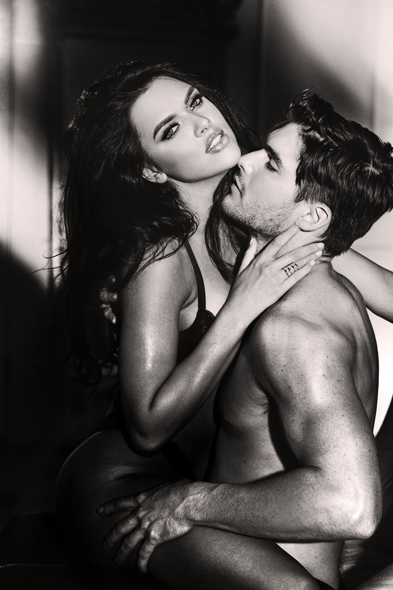 Guess taps Kelsie Smeby and Charlie Matthews for Seductive Noir fragrance campaign