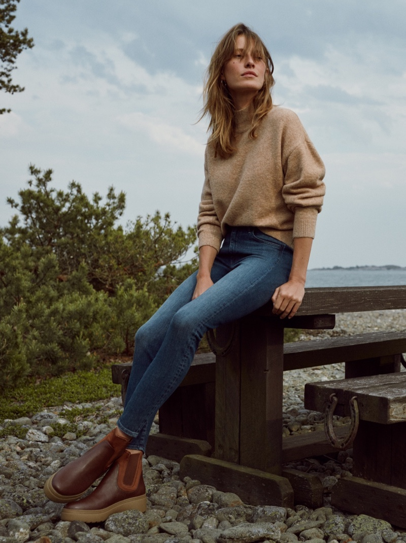 H&M Conscious Super Skinny High Jeans