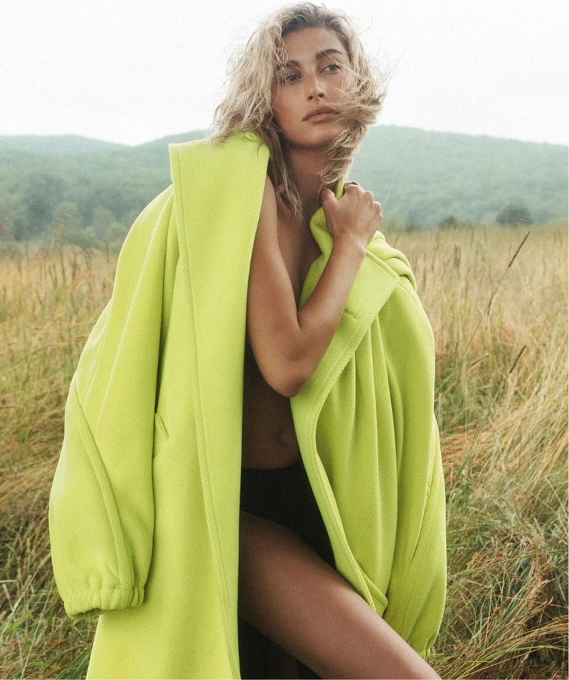 Hailey Baldwin Is a Natural Beauty for Vogue Australia