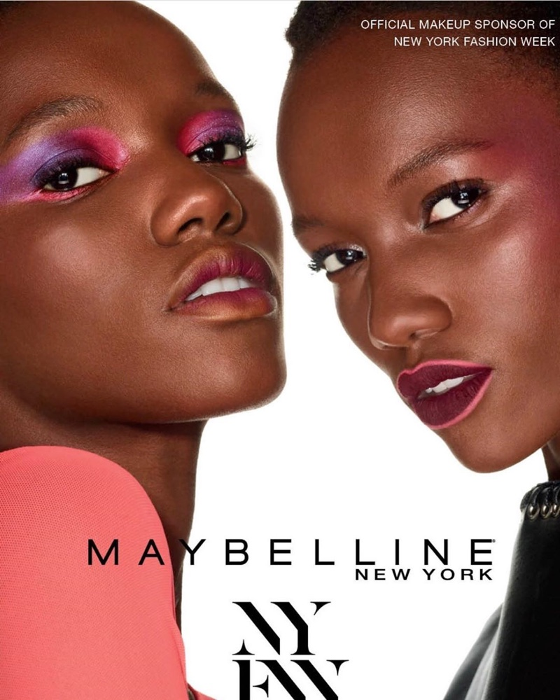 Herieth Paul appears in Maybelline NYFW spring-summer 2020 campaign