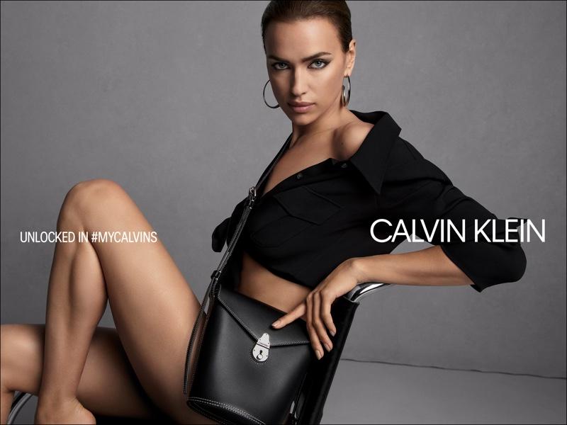 Irina Shayk stars in Calvin Klein fall 2019 handbag campaign