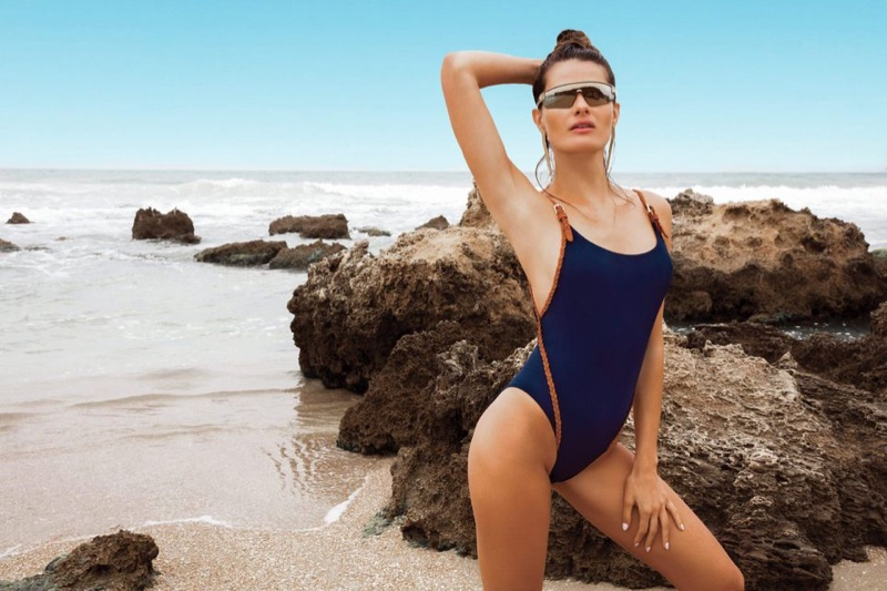 Isabeli Fontana appears in Gottex Swim spring-summer 2020 campaign