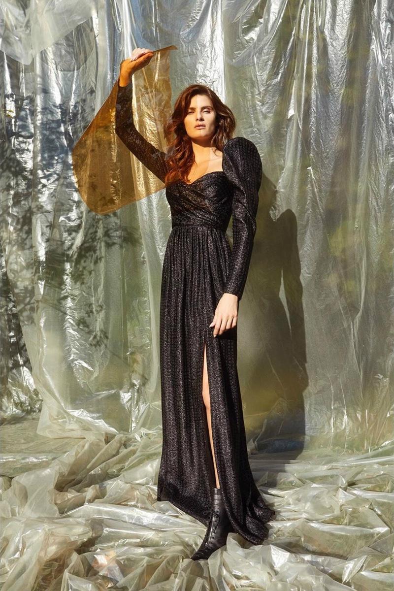 Isabeli Fontana Wears Elegant Looks for L'Officiel Italy