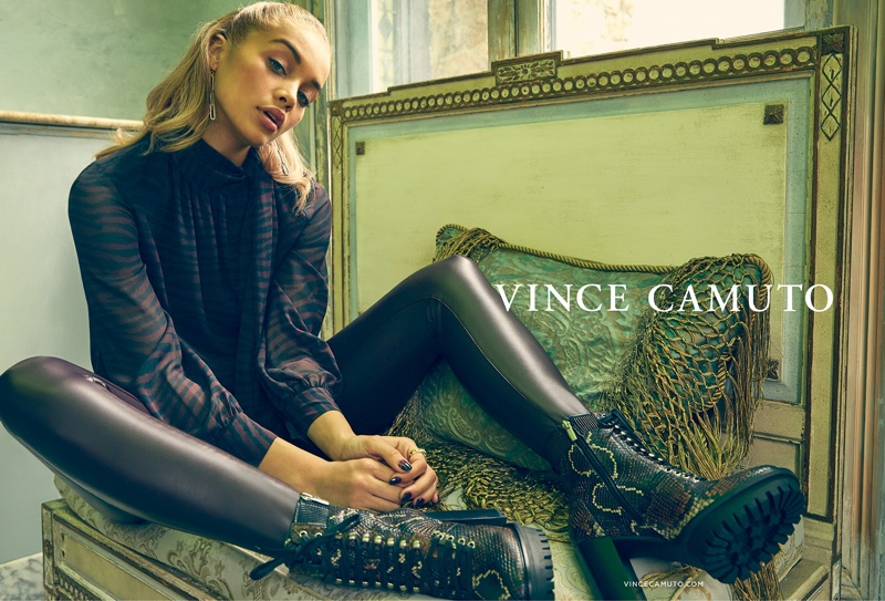 An image from Vince Camuto's fall 2019 advertising campaign