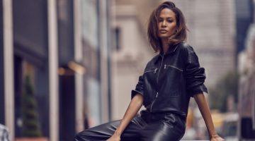 Joan Smalls Models Cool Girl Looks for PORTER Edit