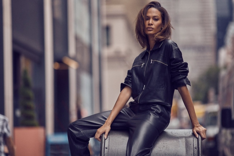 Joan Smalls Models Cool Girl Looks for PORTER Edit