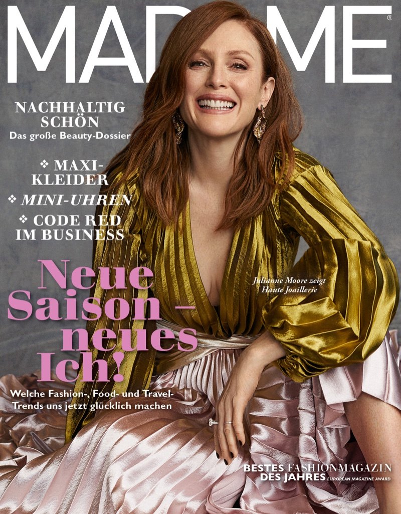 Julianne Moore on Madame Magazine September 2019 Cover