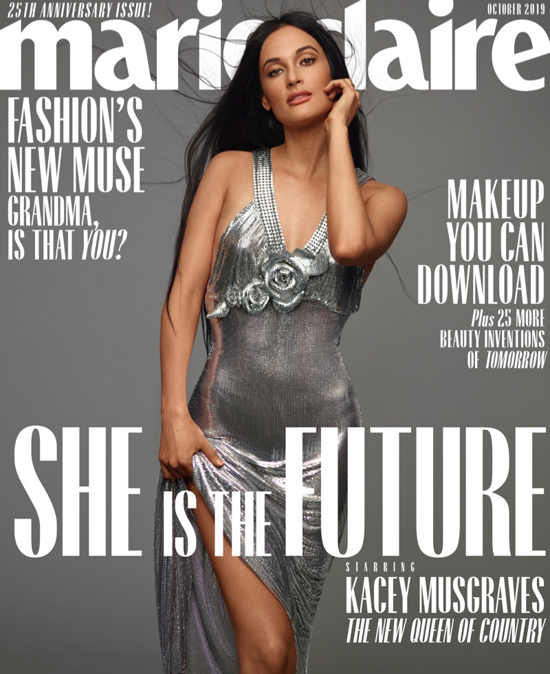 Kacey Musgraves on Marie Claire US October 2019 Cover