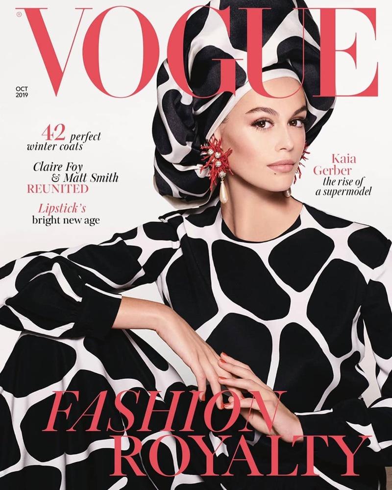 Kaia Gerber Lands First Vogue UK Cover (Photos)