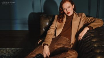 Karen Elson Wears Sophisticated Looks for Holt Renfrew Magazine