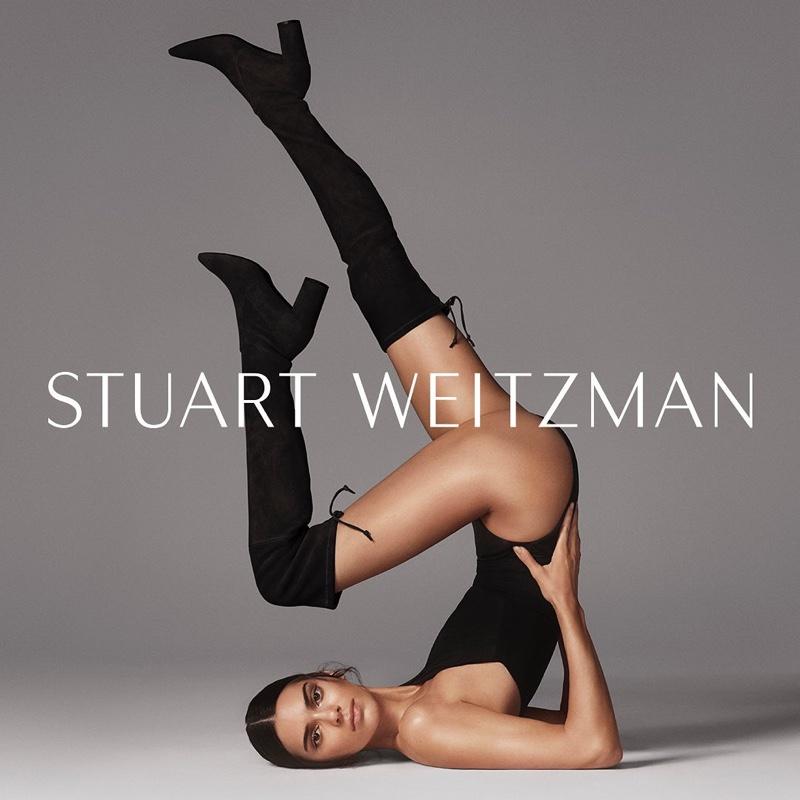 Model Kendall Jenner flaunts her legs in Stuart Weitzman fall-winter 2019 campaign