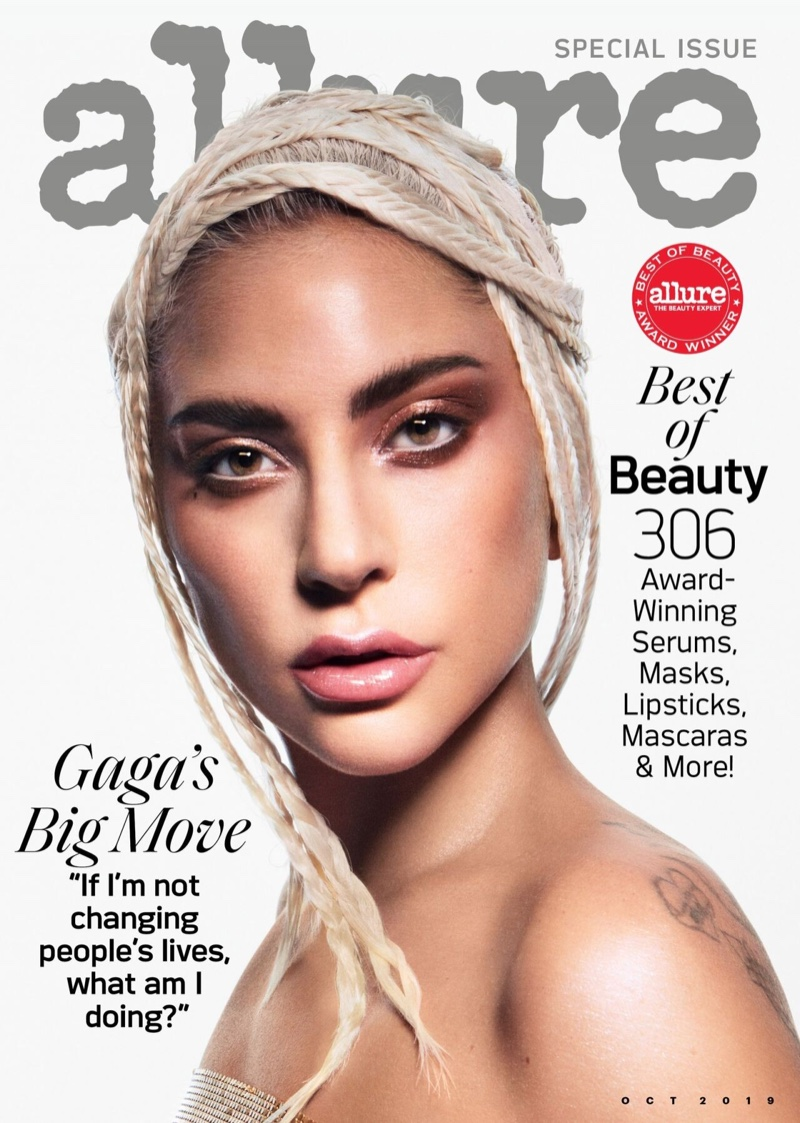 Lady Gaga on Allure Magazine October 2019 Cover
