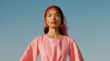 Ling Chen Poses in Pastel Shades for Vogue Portugal