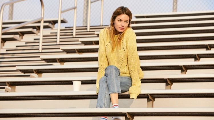 Camille Rowe stars in Lucky Brand fall-winter 2019 campaign