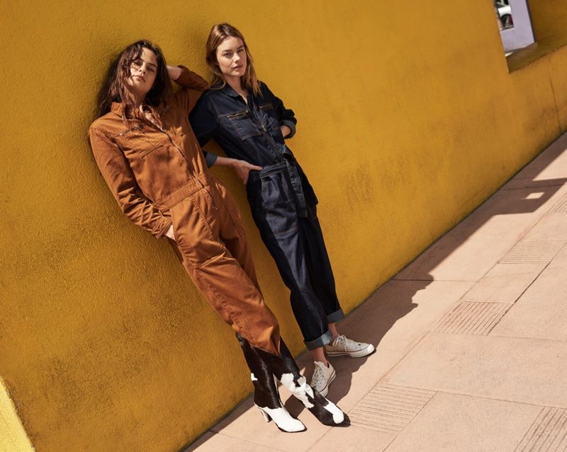 Jumpsuits take the spotlight in Lucky Brand fall-winter 2019 campaign