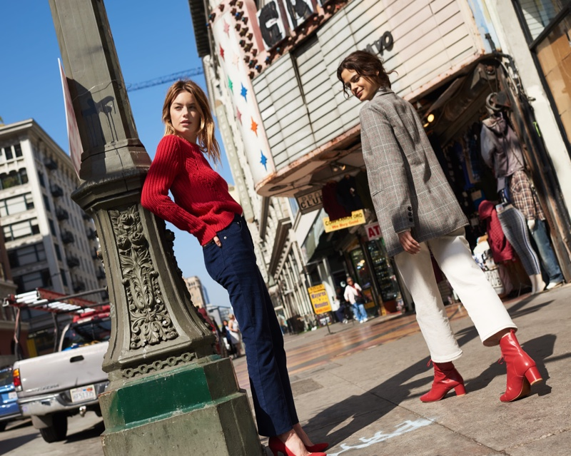 An image from Lucky Brand's fall 2019 advertising campaign