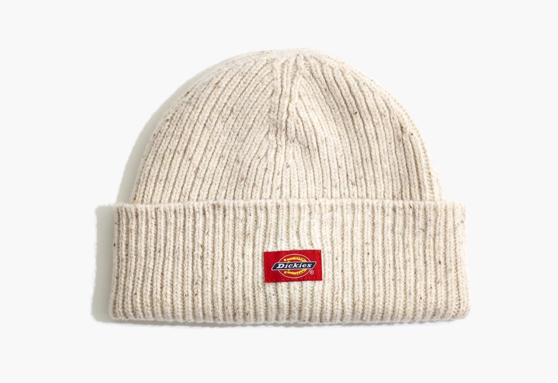 Madewell x Dickies Cuffed Beanie in Witchwood $35