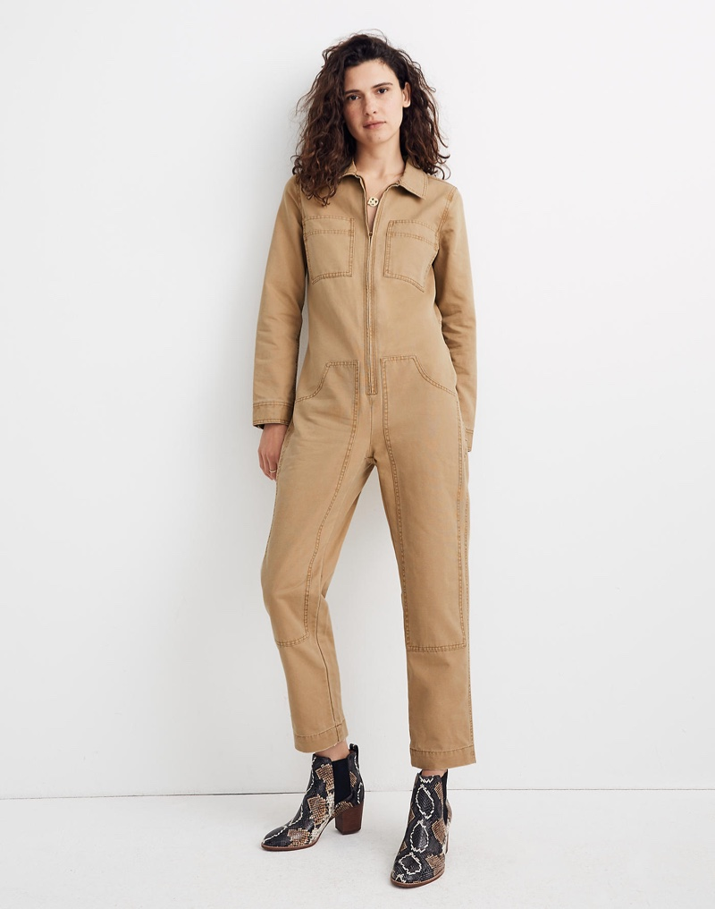 Madewell x Dickies Zip Coverall Jumpsuit in Autumn Meadow $175