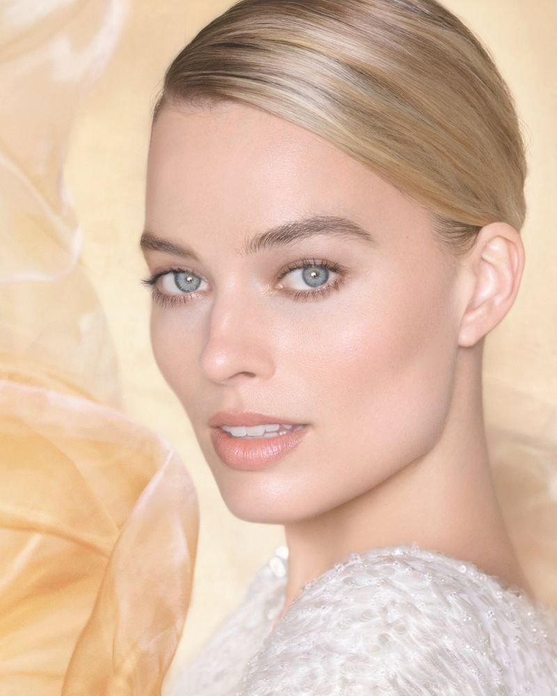 Actress Margot Robbie gets her closeup in Chanel Gabrielle Essence perfume campaign