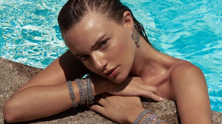 Maya Stepper Takes a Dip in Fallon Jewelry