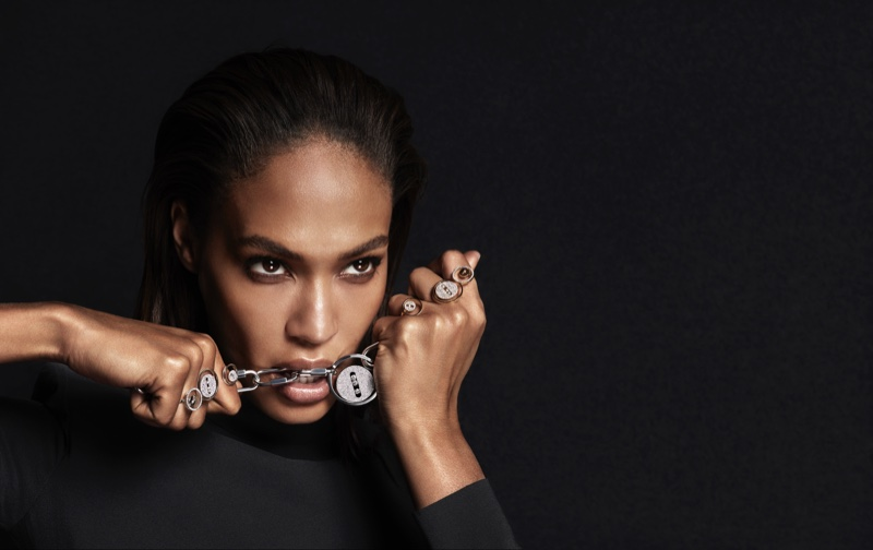 Joan Smalls fronts Messika Jewelry 2019 campaign