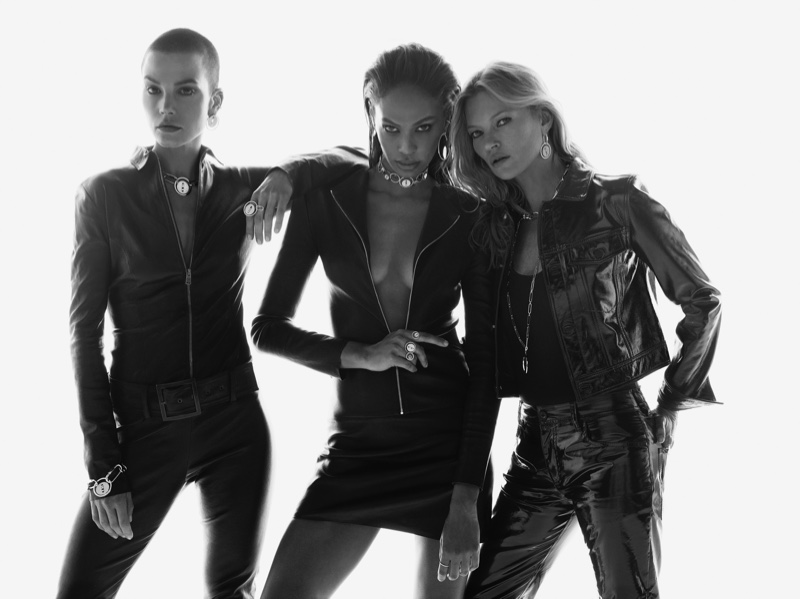 Sylvia Hoeks, Joan Smalls and Kate Moss star in Messika jewelry 2019 campaign