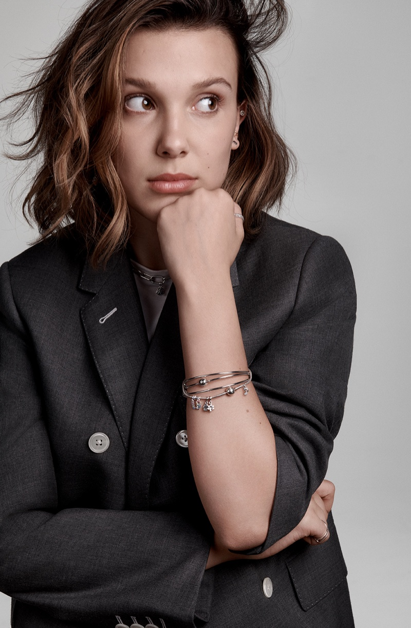 Millie Bobby Brown stars in Pandora Me campaign from Pandora Jewelry