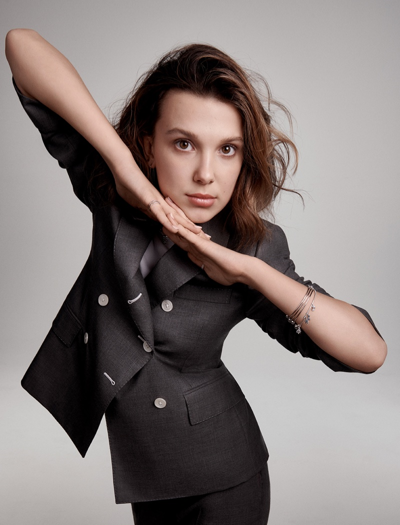 Pandora taps Millie Bobby Brown for Pandora Me jewelry campaign